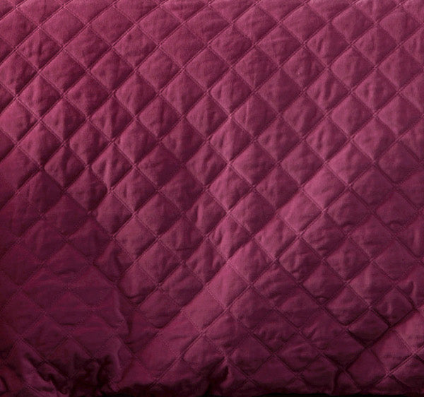 Pink Mystic Topaz Quilted Cotton Velvet Duvet Cover Set