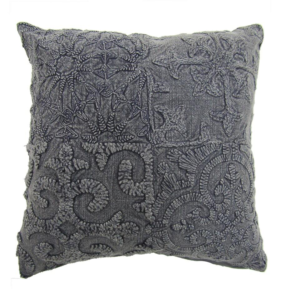 Flint Vintage Cushion Cover - Grey