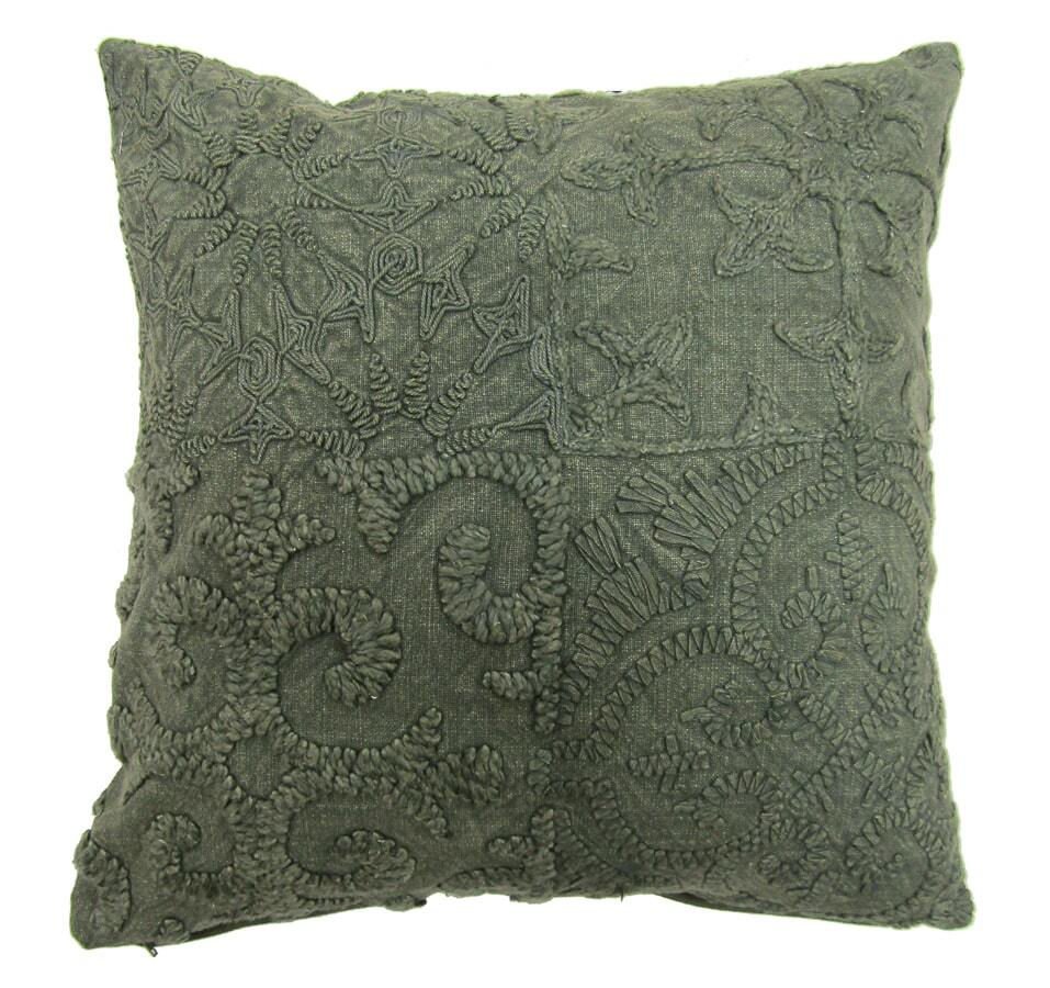 Flint Vintage Cushion Cover - Khaki