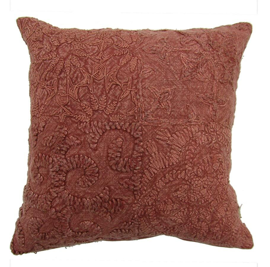 Flint Vintage Cushion Cover - Rust