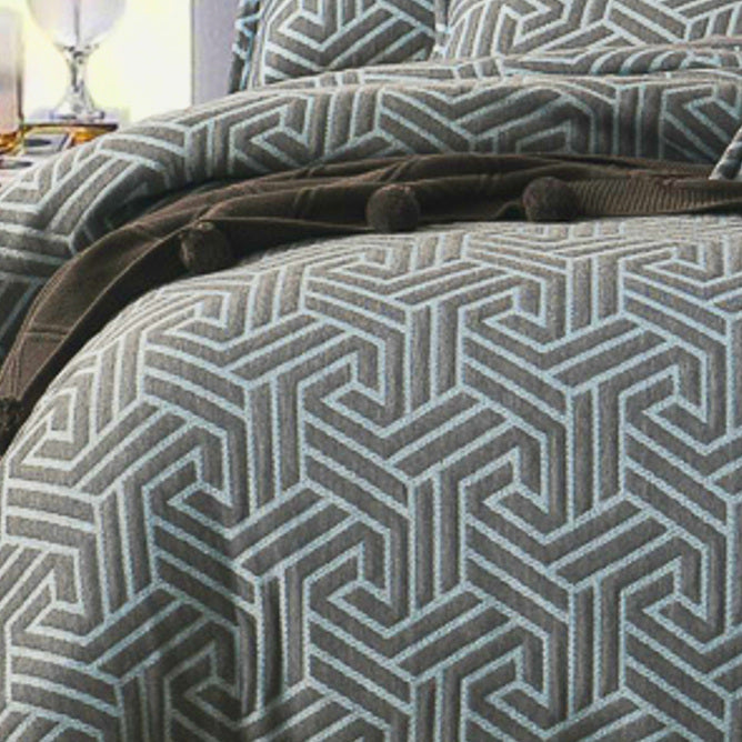 Genesis Grey Quilt Cover Set