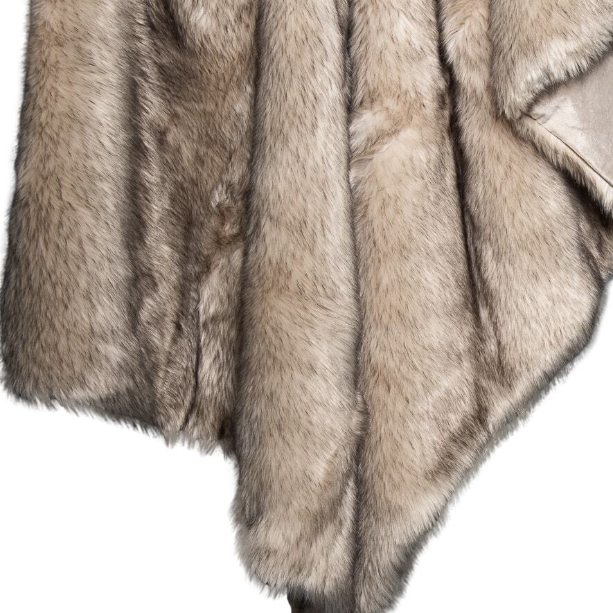 Fuax Fur Throw - Kade