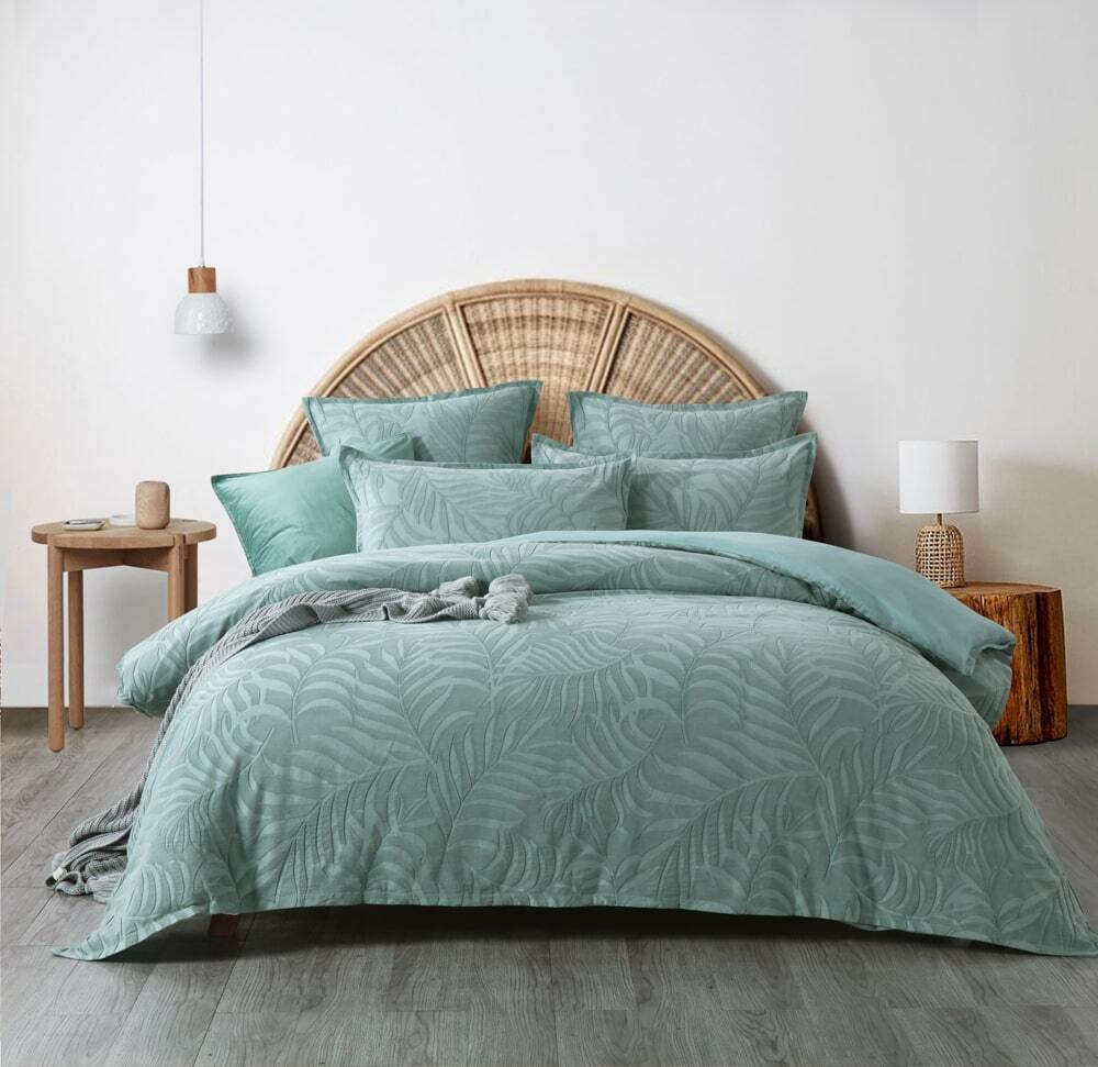Lynx Green Quilt Cover Set