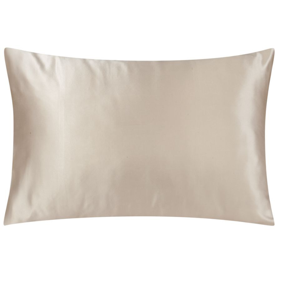 satin pillowcases linen beige