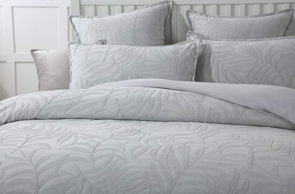 Lynx Grey Quilt Cover Set