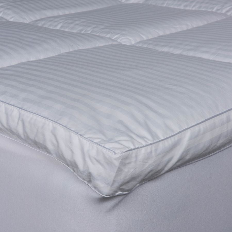 luxury down alternative mattress topper with cassette construction