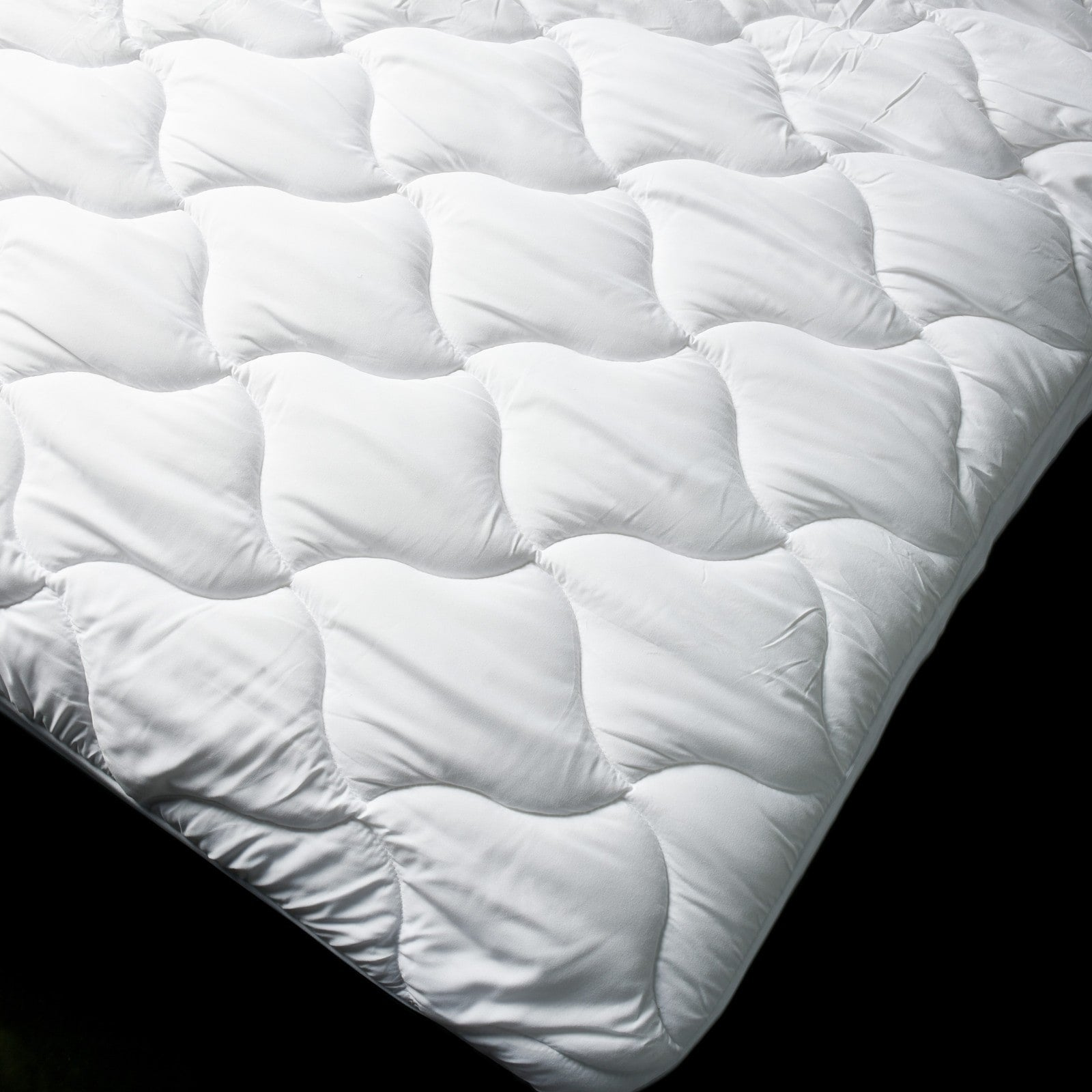 microfibre mattress protector queen king single double quilted