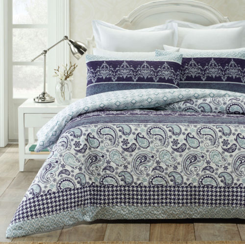 Picadilly Quilted Effect Quilt Cover Set