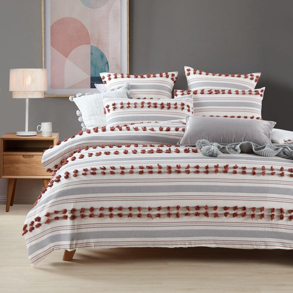 Urban Rust Quilt Cover Set