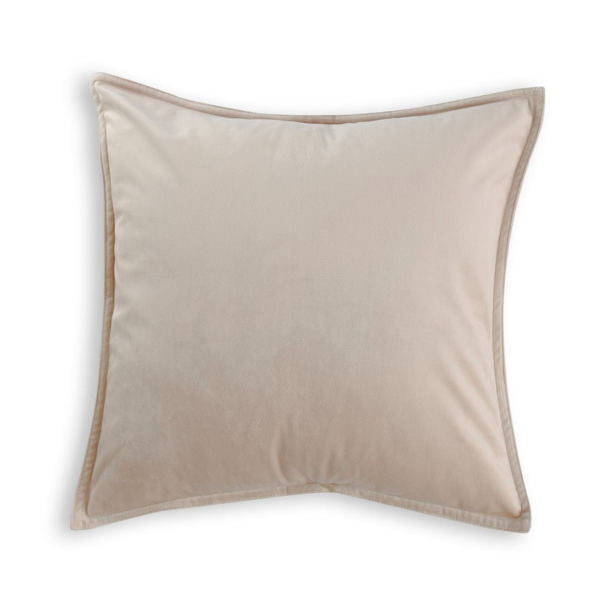 natural beige velvet european pillowcase
