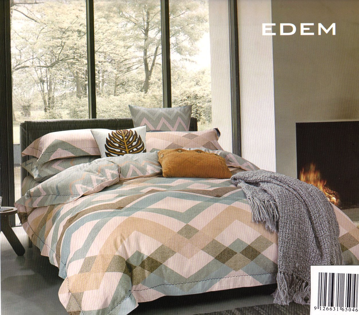 Edem Linen Cotton Quilt Cover Set