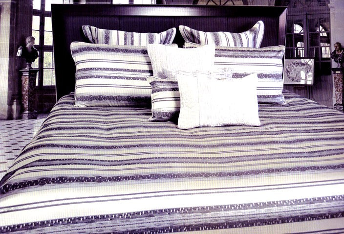 Eleanor Jacquard Quilt / Duvet Cover Set