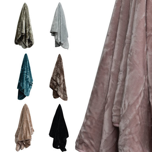 Luxury Plush Mink Blanket - 500 GSM