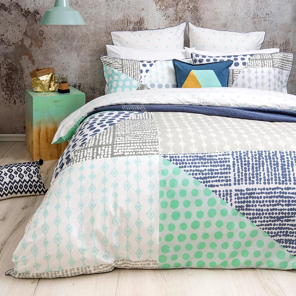Rae quilt cover set
