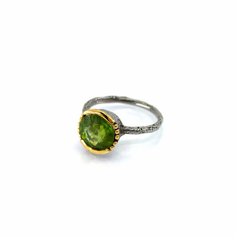 One Of A Kind Peridot Ring