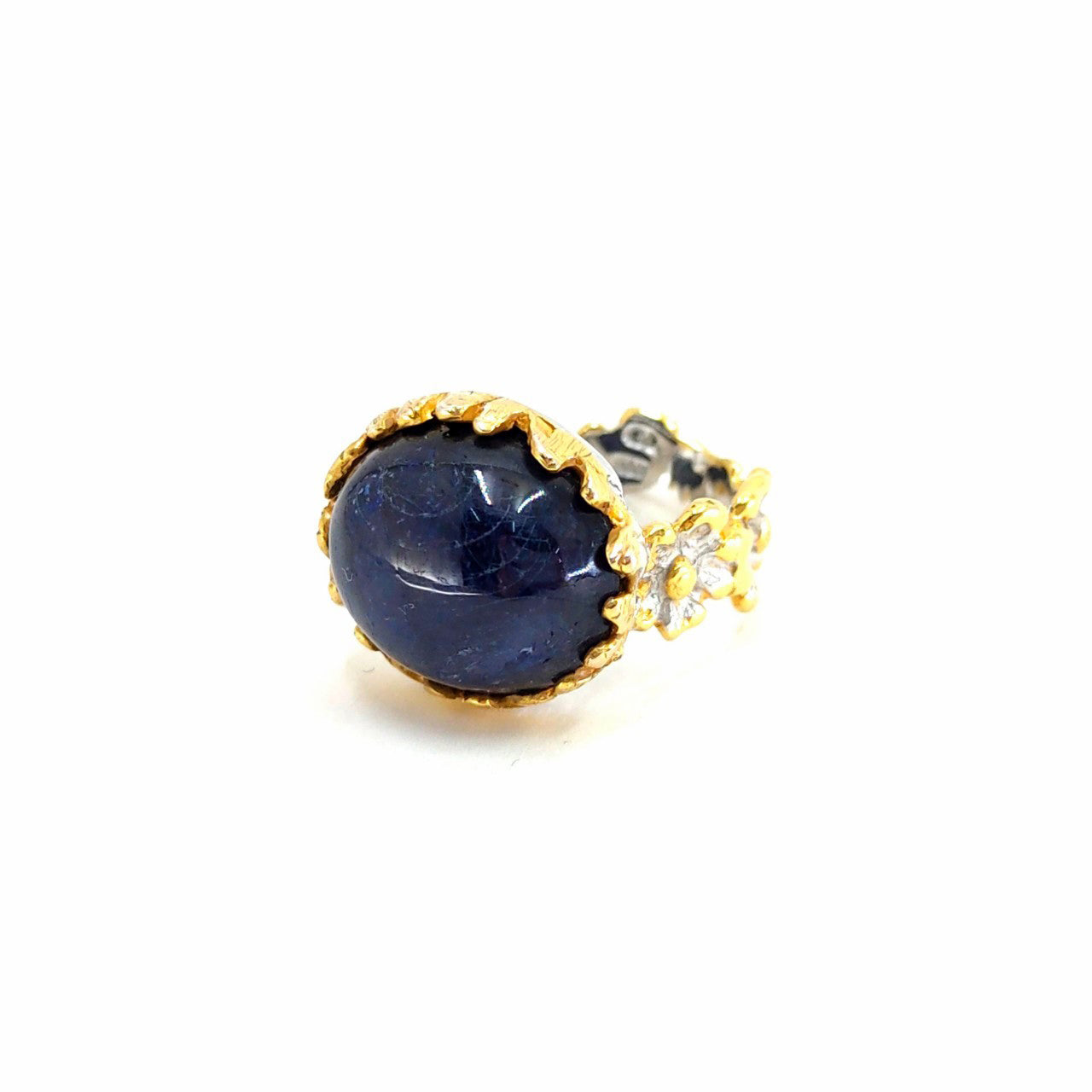 One Of A Kind Blue Sapphire (Cab) Ring