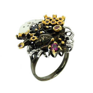 SteamPunk Mezclado Ring