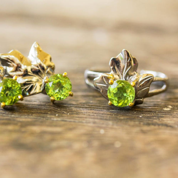 Classic Flemma Verde Ring-Rings-AdiOre Jewels