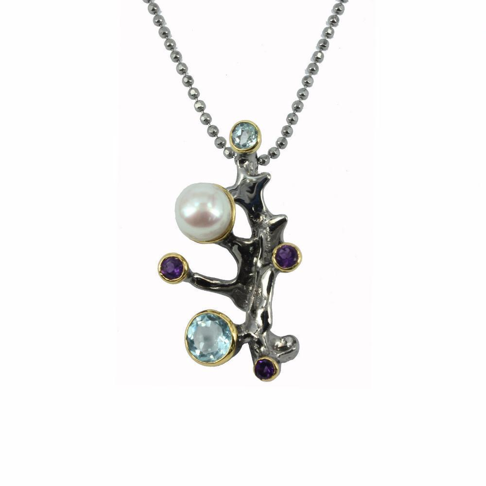 Alice Flemma Mezclado Necklace-Necklaces-AdiOre Jewels