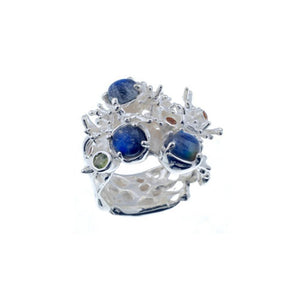Coral Love Tierra Azul Ring