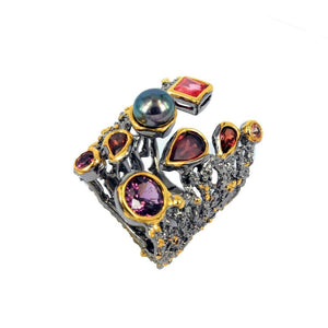 Alice Flemma Mezclado Ring-Rings-AdiOre Jewels