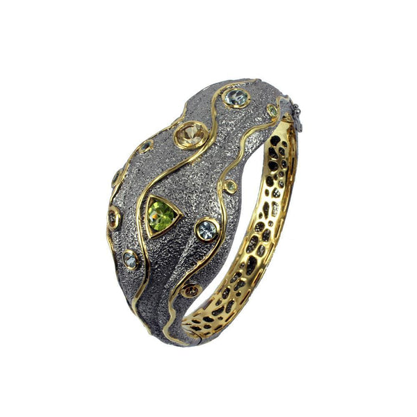 Alice Flemma Mezclado Bangle-Bangles-AdiOre Jewels