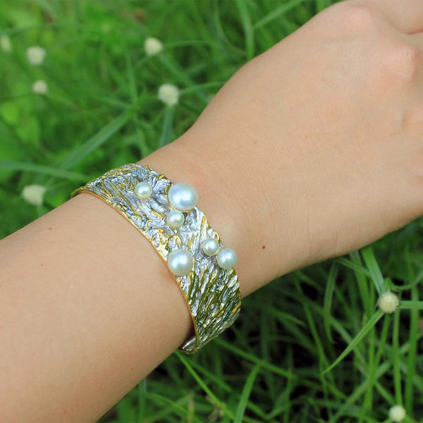 Classic Tierra Perla Bangle-Bangles-AdiOre Jewels