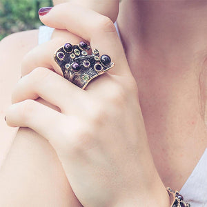 Alice Mezclado Ring-Rings-AdiOre Jewels