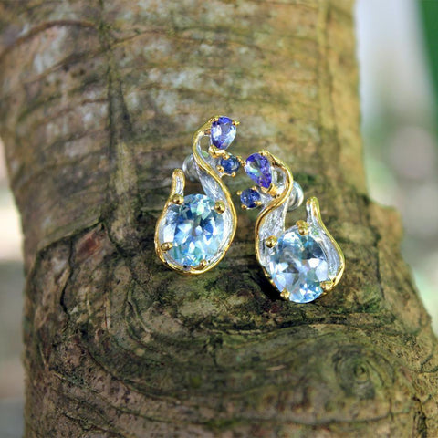Alice Flemma Azul Earrings