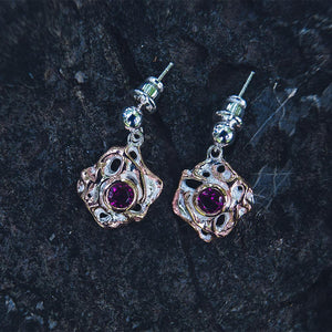 Classic Flemma Rojo Earrings