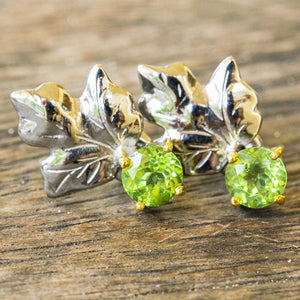 Classic Flemma Verde Earrings-Earrings-AdiOre Jewels
