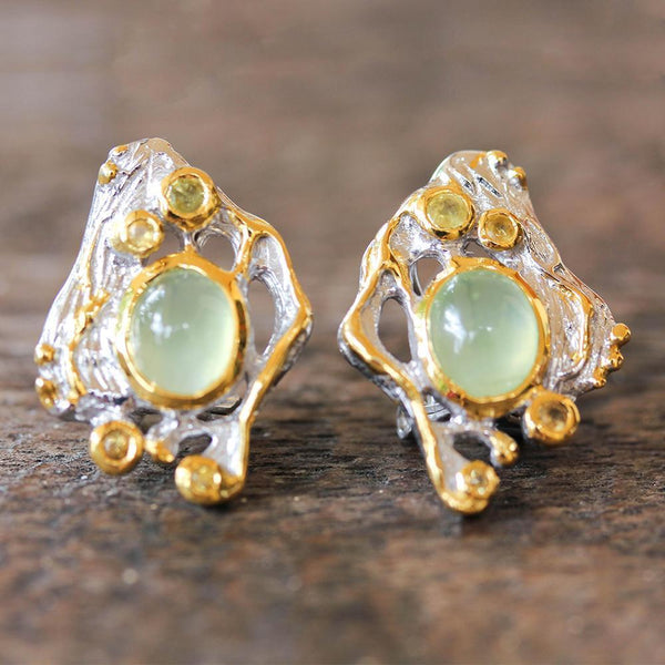 Alice Tierra Verde Earrings-Earrings-AdiOre Jewels