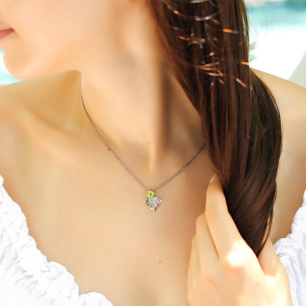 Classic Flemma Verde Necklace-Necklaces-AdiOre Jewels
