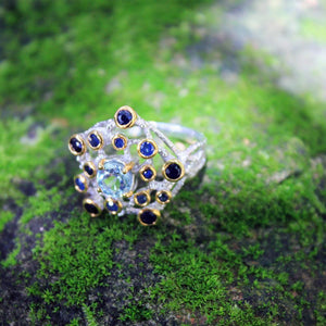 Alice Flemma Azul Ring