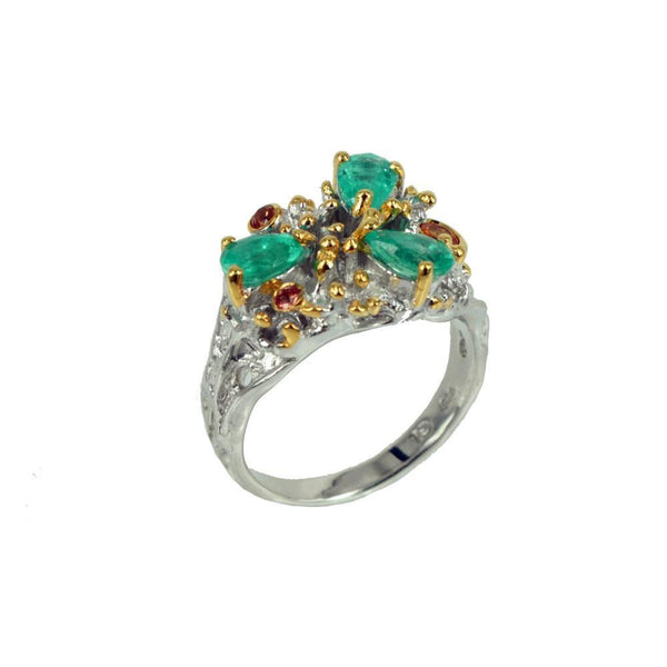 Alice Flemma Verde Ring-Rings-AdiOre Jewels