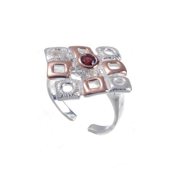 Classic Flemma Rojo Ring-Rings-AdiOre Jewels