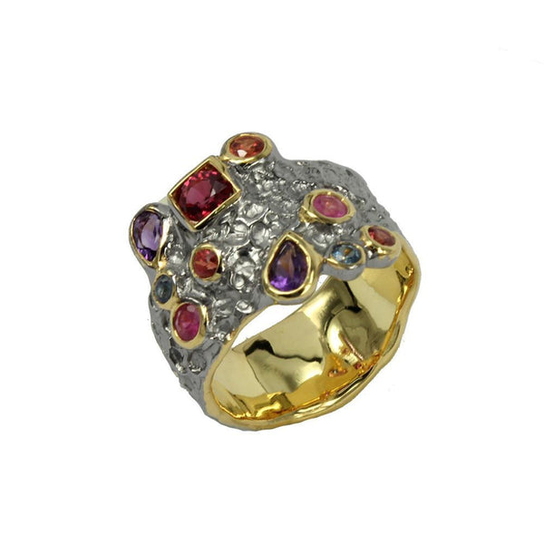 Alice Flemma Rojo Ring-Rings-AdiOre Jewels