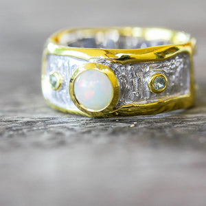 Alice Opal Magic Rings-Rings-AdiOre Jewels