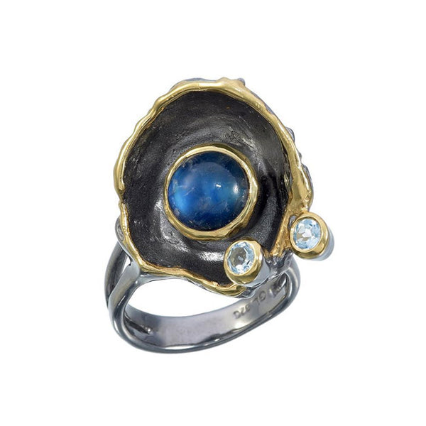 Alice Tierra Azul Ring