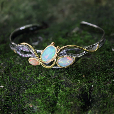 Opal Magic Flemma Mezclado Bangle
