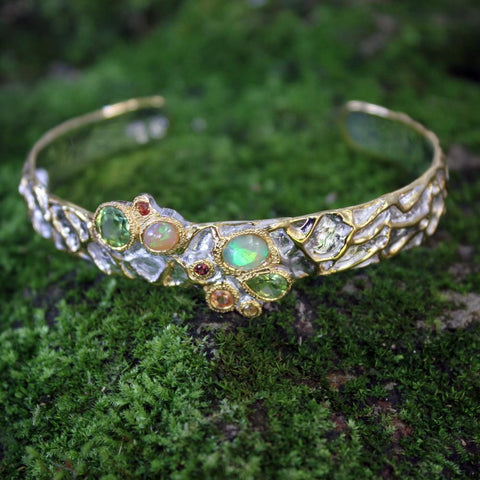Opal Magic Mezclado Bangle
