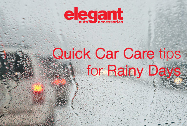 Car Care Tips For Monsoon