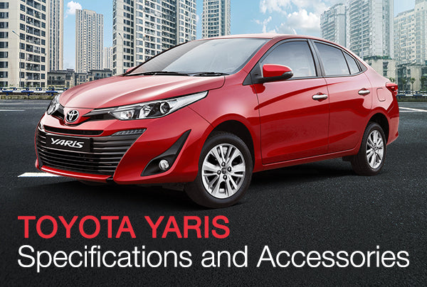 Toyota Yaris - Specifications and Accessories