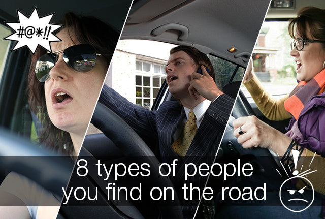 8 Types of People You Find on The Road
