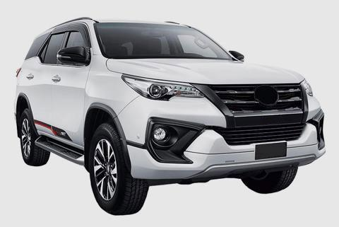 Toyota Fortuner TRD Sportivo car Accessories