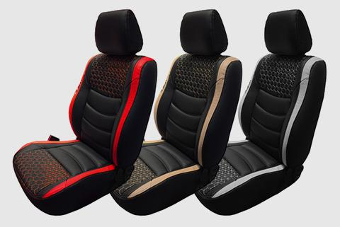 Glory Prism Leather Car Seat Cover