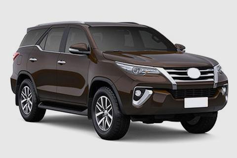 New Toyota Fortuner Car Accessories