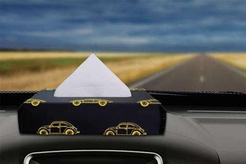 Nappa Leather Designer Tissue Boxes