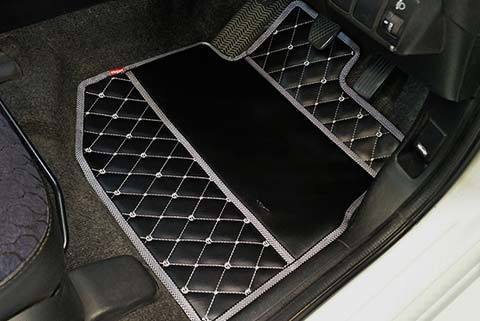 Luxury Leatherette Car Floor Mats