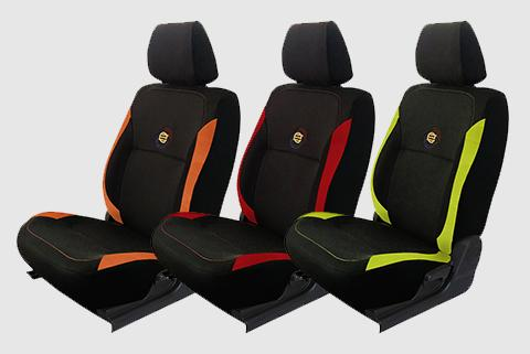 F1 Fabric Car Seat Covers